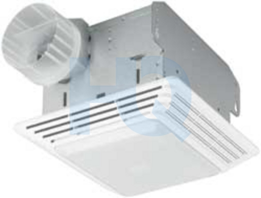 Dx70l Venmar Broan Deluxe Bath Exhaust Fan With Light
