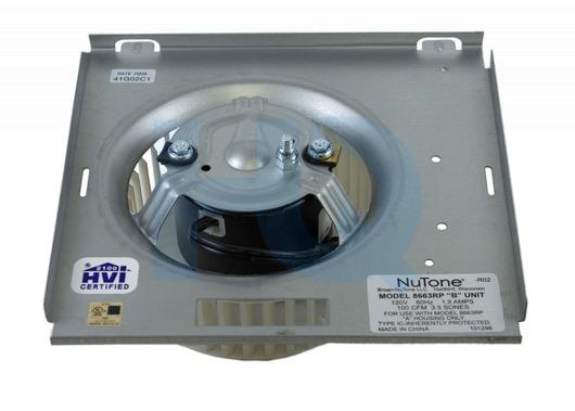 S97017705 Broan Nutone Exhaust Fan Motor Amp Blower Assembly